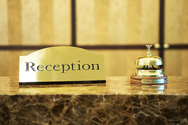 Hotel Calissano - Empfangsservice