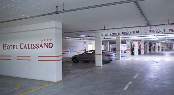 Hotel Calissano - Free parking